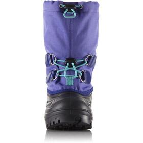 Sorel Super Trooper Botas Niños, purple arrow/reef